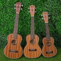 Wholesale D26 Music Instruments Inch Mahogany Ukulele Hawaii Ukulele Strings Guitar Music Christmas Gift