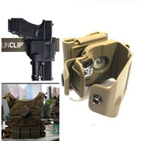 Cheap Lose money sale!!!DLP Tactical Glock Clip MOLLE   Belt Holster for Glock 17 19 22 23 - BK TAN
