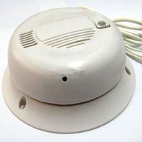 Wholesale Smoke Detector Alarm TVL for Sharp CCD Audio IR Color CCTV Camera MIC