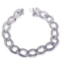 american food europe - Chain Bracelet Bangles Europe Jewelry Cubic Zirconia Fine Charming Bracelet Bangles Zircon bangle engagement gift