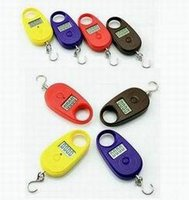 Cheap Wholesale - Free Shipping 25kg-5g Mini Display Portable Hanging Luggage Fishing Weighing Digital Scale KG LB