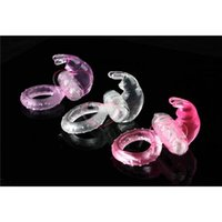 Wholesale Passion Rabbit Vibration Ring Penis Rings Delay Sleeve Cock Rings Man s Sex Toy Adult Sex Products