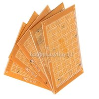 Wholesale 5PCS x15cm Prototype Paper Breadboard Universal PCB Blank Universal Printed Circuit Board DIY H1E1