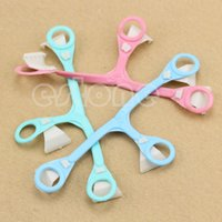 Wholesale 3pcs Portable Buckle Nappy Fasteners Pins Plastic Diaper Baby Newborn Safety New