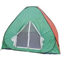 Wholesale Family Camping Tents Fashion Home Waterproof and the Wind Used Camping Tents Hot Family Mosquitoes and Rain Portable Automatic Person Ca