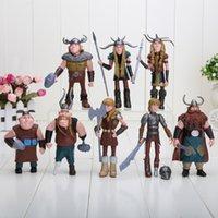al por mayor juguetes para las niñas dragón-10-13cm Cómo entrenar a tu dragón 2 Figurines Pvc Figuras de Acción Juguetes Clásicos Niños Regalo Para Niños Niñas