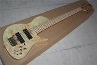 Wholesale High Quality Factory Customized Electric Bass with Original Color Body and Pickups and Can be Changed