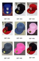 Wholesale Mens Womens Children Baseball Cap Adjustable Snapback Sport Hip Hop Hat Unisex