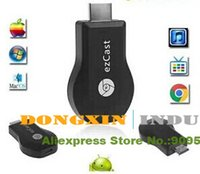 Wholesale New arrival EzCast Miracast Dongle TV stick DLNA Miracast Airplay MirrorOP better than chromecast support windows ios andriod