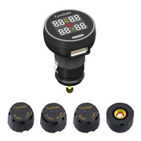 best tire pressure - Hot Best Quality TPMS Car Wireless Tire Pressure Temperature Monitoring System with4 external Sensors Tire Pressure