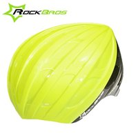 Wholesale ROCKBROS Fashion Light helmet Rain Covers Integrally molded Helmet Shell Cover for Outdoor Cycling Colors