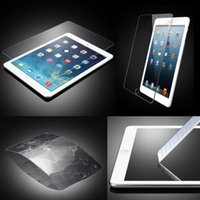 Wholesale Premium Tempered Glass Film Guard Tablet PC Screen Protector H Explosion proof For iPad6 Air2 IPAD Mini3 mini4 Ipad2