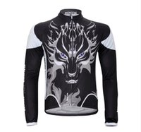 best thermal pants - Best Selling Winter Fleece Thermal Cycling White Jerseys Bib Pant Outdoor Sports Cycling Jersey Pants Set