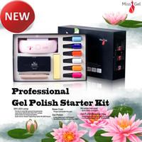 nail starter kit - Missgel Soak Off Gel Nail Polish Starter Kit UV Gel Polish With Led Lamp Nail Dryer