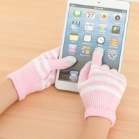 contact solution - Pairs x The Mail Bag Touch Gloves Unisex Warm Winter Contact Screen Gloves Magic Solution Screen Gloves DC Brand Hot Sale