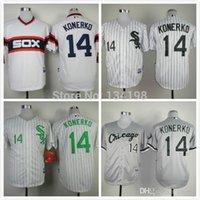 american paul - 2015 New cheap Chicago White Sox Paul Konerko American baseball men s cheap good quality jersey black gray white size M XL