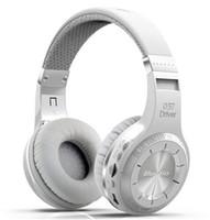Cheap Bluedio H+ Series Bluetooth 4.1 wireless Headset Headband Headphones Support TF card FM Radio Hands-Free MP3 Player Super Bass