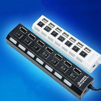 Wholesale High Speed Ports LED USB HUB splitter Gbps Adapter For Laptop PC Notebook Computer cheap New promotion