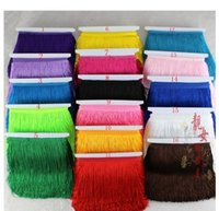 Wholesale The stage clothing sewing accessories encryption latin dance Macrame row cm