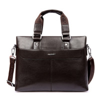 best briefcases - New Men Genuine Leather Messenger Bag Men s Briefcase Lowest Price Best Gifts Men s Computer Business Laptop