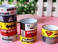 american crafts scrapbooking - 10 set Novelty Super American Hero Adhesive Tape Multi function Decorative DIY Tape Crafts Decor Scrapbooking FOD