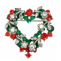 Cheap South American Christmas Brooch Best Children's Gift Christmas pins