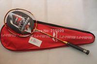 Wholesale N90 lining badminton rackets woods N90ii high end nano carbon badminton racquet free shipment