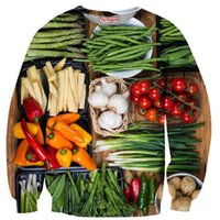 beans tomatoes - FG1509 Newest vegetables paparazzi crewneck sweatshirts Beans Garlic Tomato Chili d sweatshirt pullovers casual tops sweats camisolas