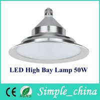 50W ac bay - New LED High bay light GC GK03 w V SMD5730 E27 B22 UFO Bulbs Various large Indoor Lighting LED Pendant lamps Spotlights Downlight