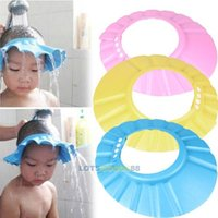 baby shampoo products - LS4G New Baby Products Adjustable Baby Child Kids Shampoo Bath Shower Cap Hat Wash Hair Shield