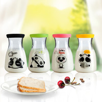 glass milk bottle - 2015 new arrival glass milk cup glass water cup glass bottle MYH301 to US