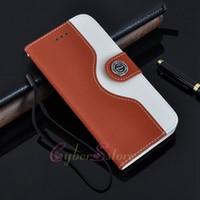 Precio de Soportar pulgadas-Para el iphone 6 4.7 Plus 5.5 pulgadas Moleskin Ratón Billetera de Cuero Cubierta de la caja Con la Tarjeta de Crédito Titular de Soporte Para iphone6 i6