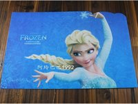 Wholesale 2015 AAA quality frozen elsa Big hero children kid boy girl students print multi function mouse pad test plate mouse mat TOPB1597
