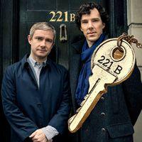 bbc jewelry - 2 colors BBC Movie jewelry Sherlock necklace B Key pendant necklace women retro statement jewelry new