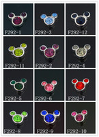 Wholesale Hot Designs Owl Floating Mouse Charms for Glass Living Lockets Random Delivery