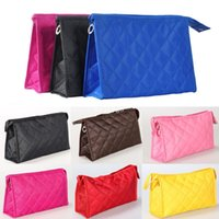Wholesale X New Fashion Travel Cosmetic Makeup Toiletry Bag Purse Pouch Case Handbag Clutch Seven Color Three Size