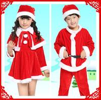 beautiful baby clothes boys - Emmani Hot Sale Beautiful Santa Claus Costume Baby Christmas Costume Clothing Sets High Quality Girl Dress Boy Santa Costume
