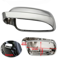 Wholesale Left Wing Rearview Mirror Cover Housing Case Casing Cap For VW Golf Mk4 Bora J2
