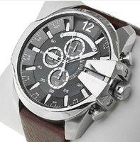 Wholesale DZ new fashion luxury brands DZ sports watch DZ7193 men s quartz watch leather military watch Relogio