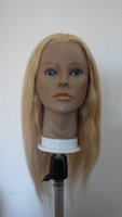 hair mannequin head - On Sale Hairdressing Hair Styling Tools Human Hair India hair The Mannequin Head Doll Head Mannequin Head The Dummy s Head Inch
