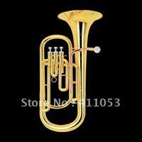 baritone horn music - best music Brass Super Bb BARITONE TUBA PISTON HORN W case in stock