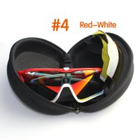 Wholesale New Polarized Cycling Glasses Racing Sport Cycling Sunglasses Lens set cycling eyewear bike bicycle Glasses Men Women UV400 best quality