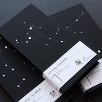astrology business - Astrology Notebook Laptop Twelve Constellations Diamond Business Notebook Stars Shine Diary Book Birthday Gifts
