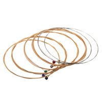 Wholesale Hot Sale Acoustic Guitar Strings Phosphor Bronze Extra Light Guitar Parts Accessories I987