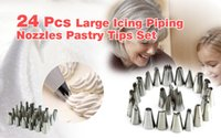 Wholesale Icing Piping Nozzles Pastry Tips Set For Cake Decorating Sugarcraft tool YKS