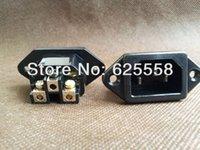 audio grade solder - Rhodium Plated IEC AC socket Inlet audio grade non solder