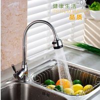 bamboo building materials - 360 degree kitchen faucet copper washing vegetable basin faucet hot tap Metal building materials