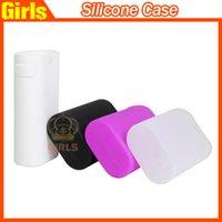 decorative bags - Istick w Silicone case skin carry Bag Ismoka Eleaf Silicon box protective Case decorative case For Istick w box mod