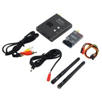 aircraft electric system - Boscam FPV G Ghz mW Channels Wireless A V transmitter and receiver TS832 RC832 Tx Rx Set for aircraft KM range