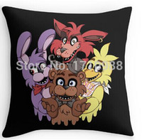Wholesale Two sides printing cool Cool Five Nights at Freddys Pillow Cases for